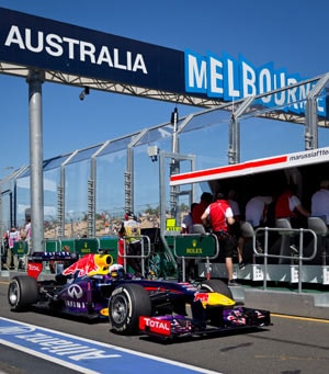 Australian Grand Prix: Sebastian Vettel blazes his way through practice sessions