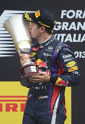 Sebastian Vettel wins Italian Grand Prix ahead of Fernando Alonso