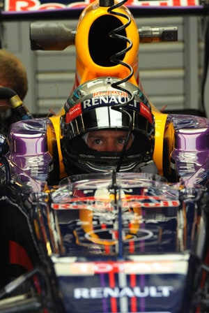Spanish Grand Prix: Sebastian Vettel outpaces Fernando Alonso in practice
