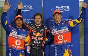 Abu Dhabi GP: Vettel equals Mansell pole record