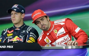 Sebastian Vettel, Fernando Alonso exude confidence ahead of Indian GP