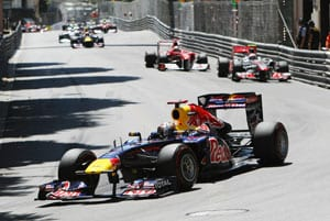 Vettel wins incident-packed Monaco GP
