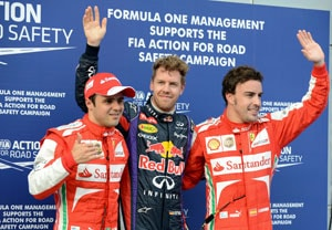 Sebastian Vettel grabs Malaysian Grand Prix pole in qualifying drama