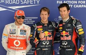 Sebastian Vettel on pole for Indian Grand Prix