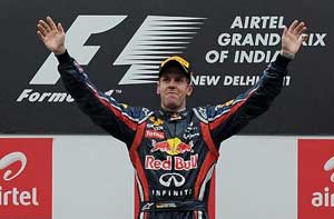 It was fantastic to win first ever Grand Prix of India: Vettel
