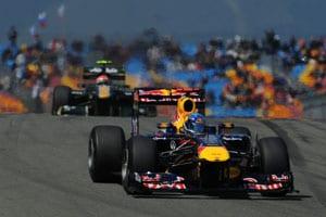 Vettel secures pole at Turkish GP