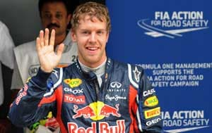 Records galore for Vettel en route to Indian GP pole