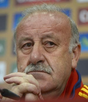 Spain coach Vicente Del Bosque can't imagine Primera Liga without Barcelona
