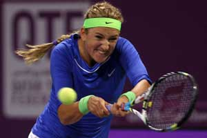 Top-ranked Azarenka pulls out of Dubai tournament