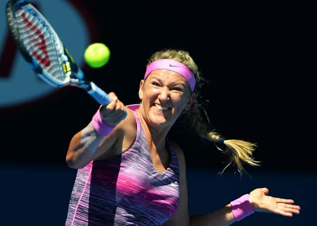 Australian Open: Stuttering start to Victoria Azarenka's campaign