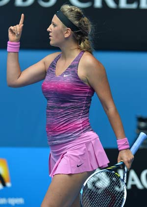 Australian Open: Defending champion Victoria Azarenka in quarters