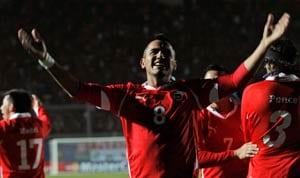 Vidal heads Chileans past Mexico