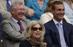 Wimbledon 2013: Novak Djokovic praises Nemanja Vidic for giving up royal box