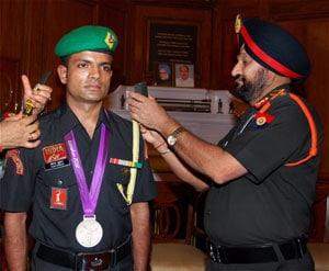 Army promotes Olympics silver medallist Vijay Kumar as Subedar Major