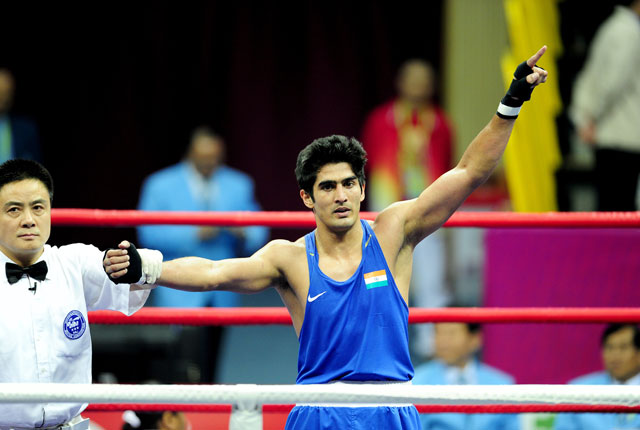 Vijender Singh says he learnt team-work, patience from working in Bollywood film