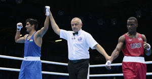 London 2012 Boxing: Vijender Singh through to the quarter-final