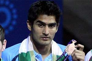 Vijender in semifinals of Arafura Games