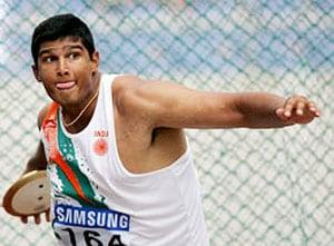Vikas Gowda qualifies for final round in world athletics