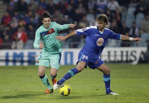 Barcelona shocked to defeat by Getafe