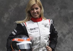 Female F1 test driver Maria De Villota fighting for life after crash