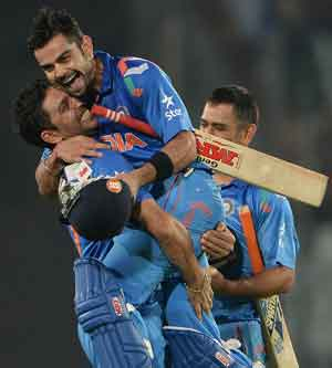 ICC World Twenty20: How Virat Kohli battled body pain to carry India to final