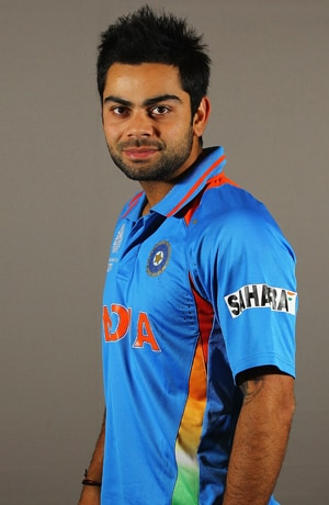 Kohli to represent new TVS Sport