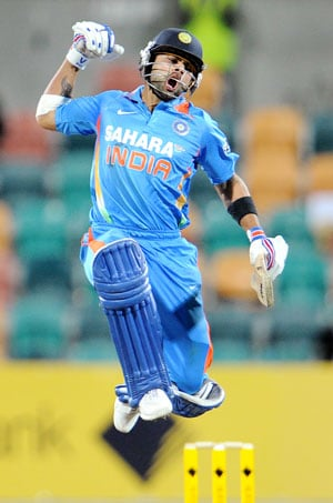 Virat Kohli rises to second position in ODI rankings