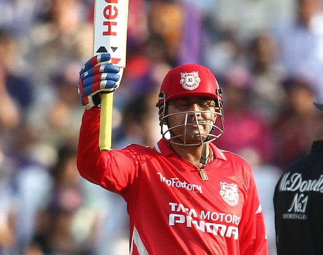 IPL: Vintage Virender Sehwag Rips Apart Kolkata Knight Riders' Bowling