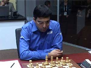 Viswanathan Anand settles for draw against Vladimir Kramnik