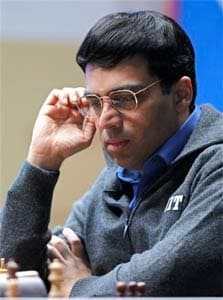 Viswanathan Anand held by Vallejo Pons in Chess Masters opener