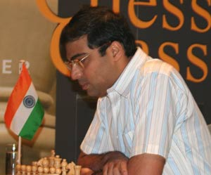 Anand beats Short in London Chess Classic