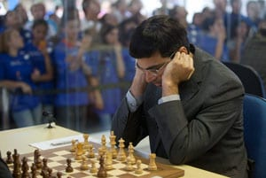 Viswanathan Anand draws again in Chess Masters