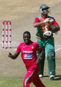 Zimbabwe beat Bangladesh by four wickets