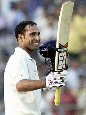 Laxman takes sixth spot in ICC Test rankings