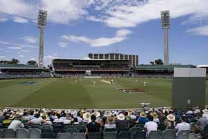 Western Australia Cricket Association ground in Perth not up to international standards?