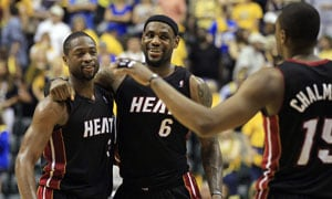 Miami Heat beat Indiana Pacers, into East finals