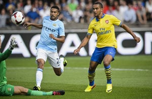 Arsenal lack firepower but still too strong for Manchester City in preseason friendly
