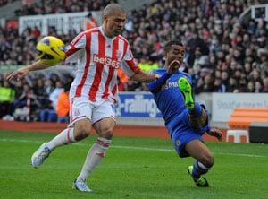 Chelsea thrash Stoke City 4-0