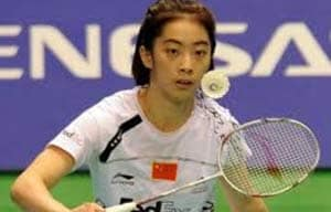 Wang Shixian out of China Open in tears