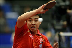 China selects men's, women teams table tennis team