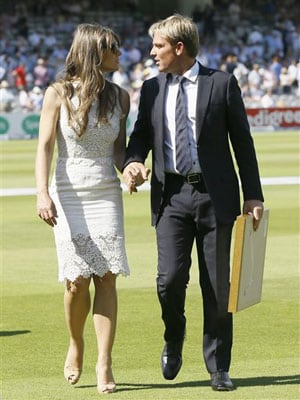 Did Shane Warne's 'googly' on wedding date anger Liz Hurley?