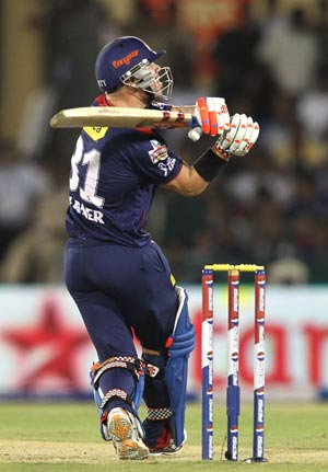 IPL 2013: Delhi Daredevils claim third win, defeat Kolkata Knight Riders by 7 wickets