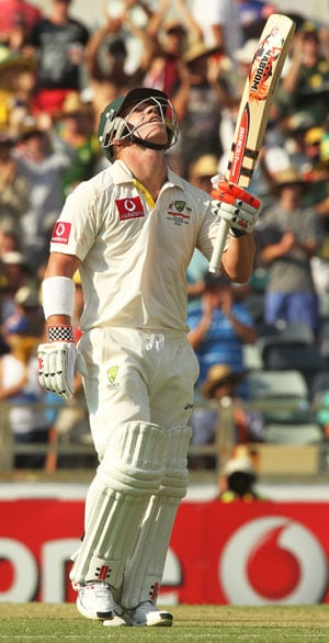 Warner slams joint-fourth fastest Test century