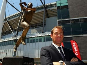 Hampshire honour Shane Warne, name a stand after him