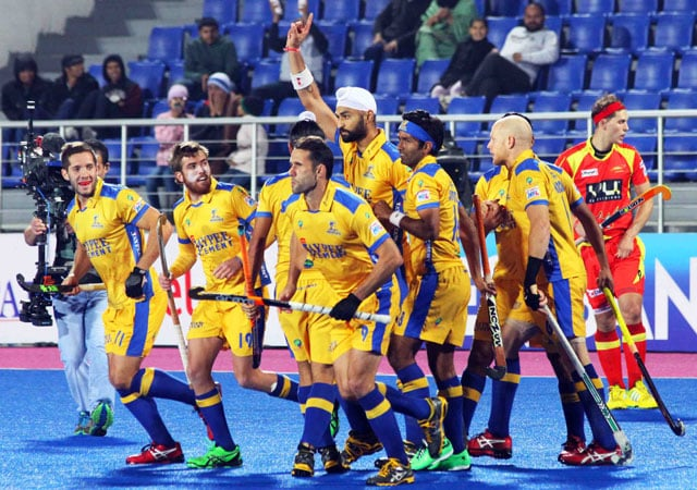 Hockey India League: Jaypee Punjab Warriors beat Ranchi Rhinos 4-2