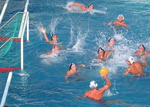 Olympic water polo referees dropped for blown call