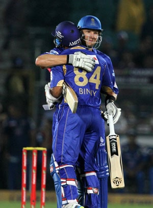 Champions League Twenty20: Rajasthan Royals' 7-wicket win over Mumbai Indians, as it happened