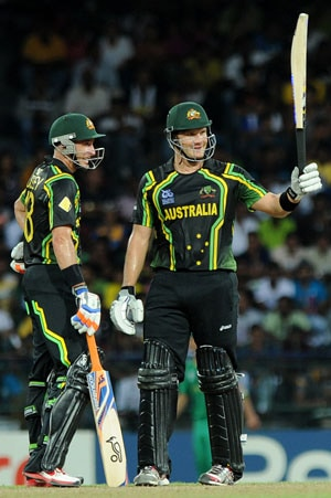 World T20-Super 8s: Australia beat South Africa by 8 wickets