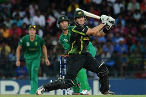 World T20: Dominant Shane Watson leads Australian charge