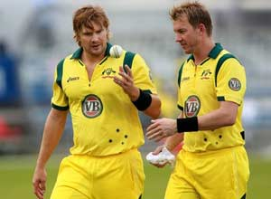 Brett Lee, Shane Watson ruled out of final England ODI